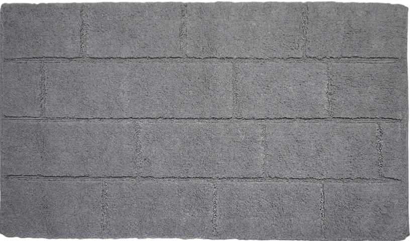 Vannas istabas paklājs Saniplast Wall Perla, pelēka, 1000x550 mm