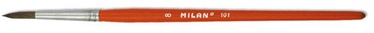 Milan Brush 101 Poney Round Nr 10