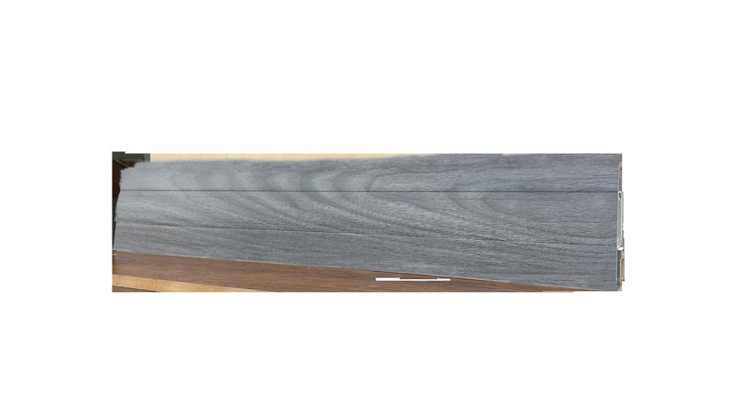 SN PVC Skirting Board SG75J2 2200x75x24.5mm Grey