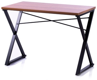 Homede Lirn Desk Walnut/Black