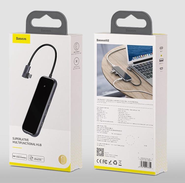 Adapter station USB3.0.HDMI.RJ45.USB-C