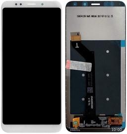 Mobilo tālruņu rezerves daļas Xiaomi Redmi 5 Plus White LCD Screen