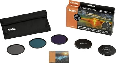Rollei Pro ND8/64/1000 Photo Filter Set 72mm