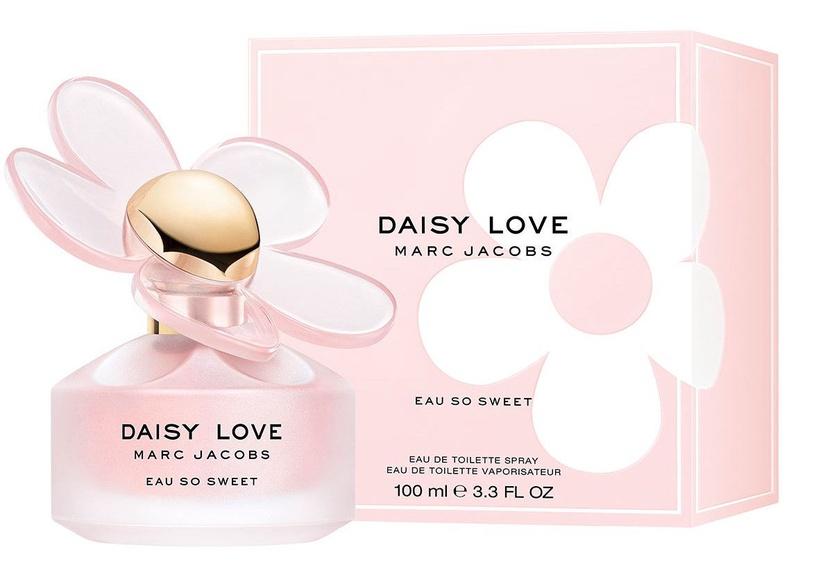 Tualettvesi Marc Jacobs Daisy Love Eau So Sweet, 100 ml EDT