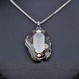 Diamond Sky Pendant Crystal Motif II With Swarovski Crystals