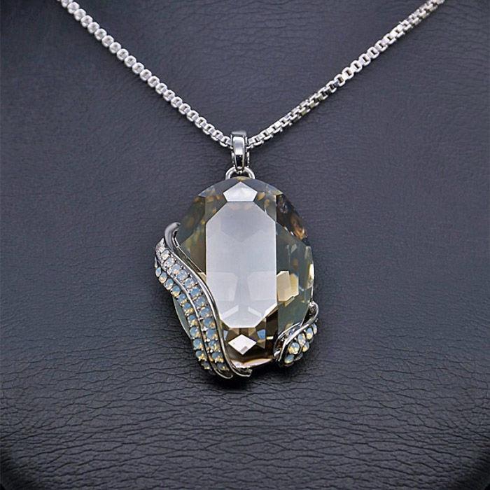 Diamond Sky Pendant Crystal Motif II With Swarovski Crystals