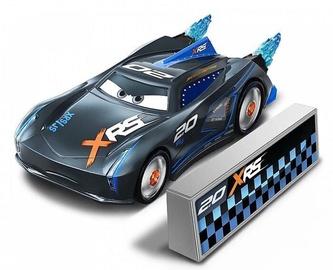 Mattel Disney Cars XRS Rocket Racing Jackson Storm With Blast Wall GKB90