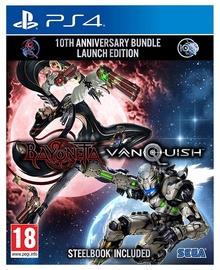 Bayonetta and Vanquish 10th Anniversary Bundle Launch Steelbook Edition PS4
