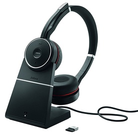 Ausinės Jabra Evolve 75 UC Stereo with Charging Stand