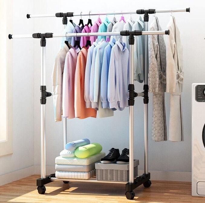 Двойная вешалка для одежды
