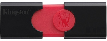 Kingston DataTraveler 106 USB 3.1 128GB Black/Red