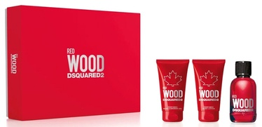 Набор для женщин Dsquared2 Red Wood 3pcs Set 150ml EDT