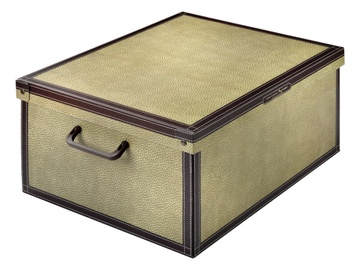 Dėžė, su dangčiu ir rankena, 35 x 25 x 17,5 cm