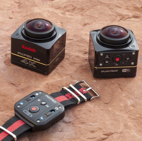 Kodak PixPro SP360 4K Dual Pro Kit Black