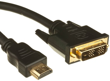 RoGer Video Cable DVI To HDMI 2m Black