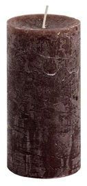 Spaas Rustik Cylindrical Candle D7xH13cm Brown