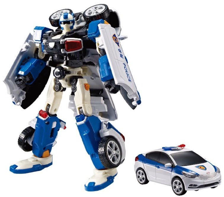 Transformer Young Toys Rescue Tobot C