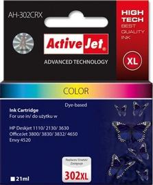 Кассета для принтера ActiveJet Cartridge AH-302CRX For HP 21ml MultiColor