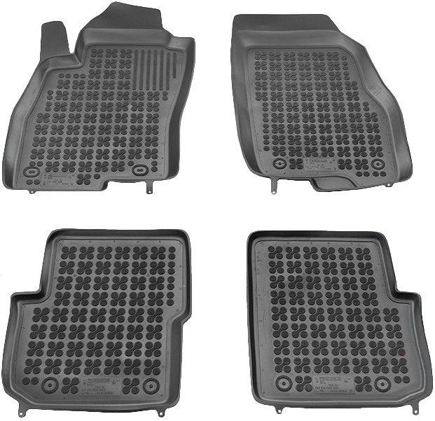 Резиновый автомобильный коврик REZAW-PLAST Fiat Punto Evo 2009, 4 шт.