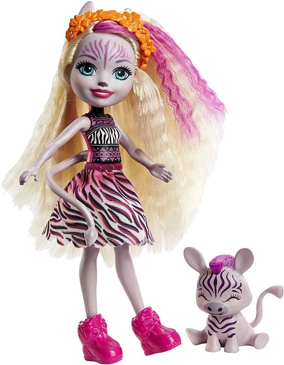 Кукла Enchantimals Zadie Zebra & Ref GTM27