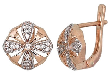 Diamond Sky Gold Earrings Prestige II