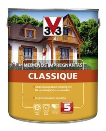 Medienos impregnantas V33 Classique, šviesaus ąžuolo spalvos, 2.5 l