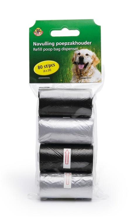 Beeztees Refill Poop Bag Dispenser 4x20pcs