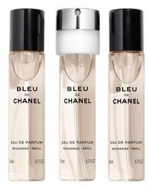 Kvepalai Chanel Bleu de Chanel 3x20ml EDP Refill