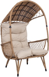 Home4you Tanja Lounge Chair Beige