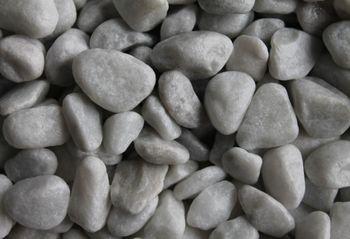 Dekoratīvais akmens, 5 - 12, balta, 1.5 kg