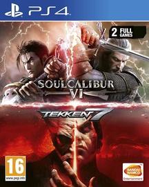 Игра для PlayStation 4 (PS4) Soulcalibur VI + Tekken 7 Bundle PS4