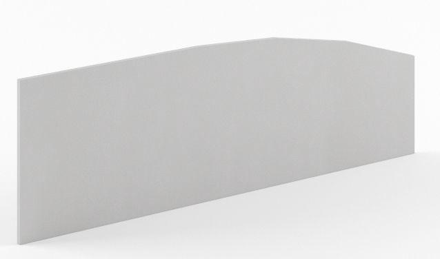 Skyland Simple SQ-1400 Privacy Divider 140x45cm Grey
