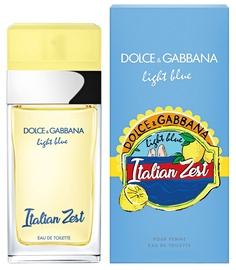 Kvepalai Dolce & Gabbana Light Blue Italian Zest Femme 100ml EDT