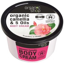 Organic Shop Body Cream Japanese Camellia 250ml