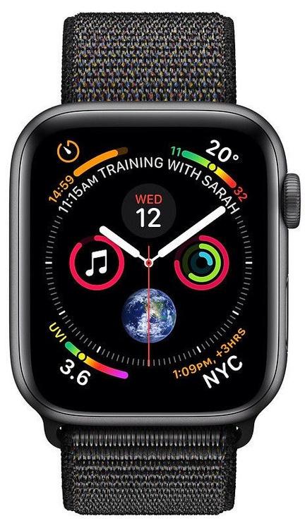 Išmanusis laikrodis Apple Watch Series 4 40mm GPS Grey Space Gray/Black Loop