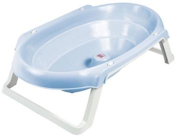OkBaby Onda Slim Folding Bath Tub Blue 55