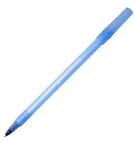 BIC Round Stic 1mm Ballpoint Pens Blue 60pcs