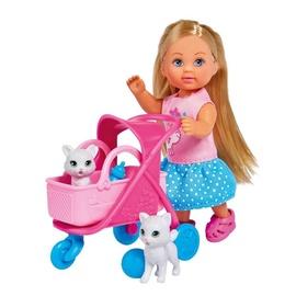 Кукла Simba Evi Love Cat Buggy 105733348