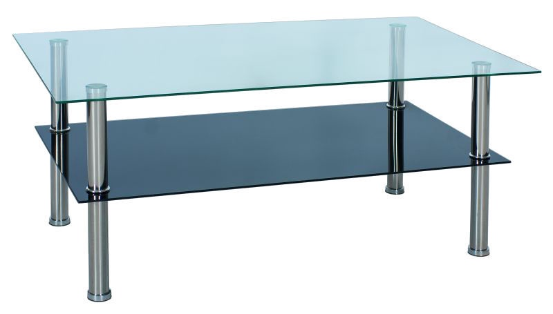 Glass Table Coffee Table.Signal Meble Tessa Coffee Table 59x98cm Glass