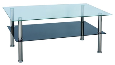 Signal Meble Tessa Coffee Table 59x98cm Glass