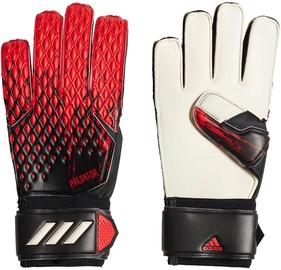 Adidas Predator 20 Match Gloves Black/Red FH7286 Size 8