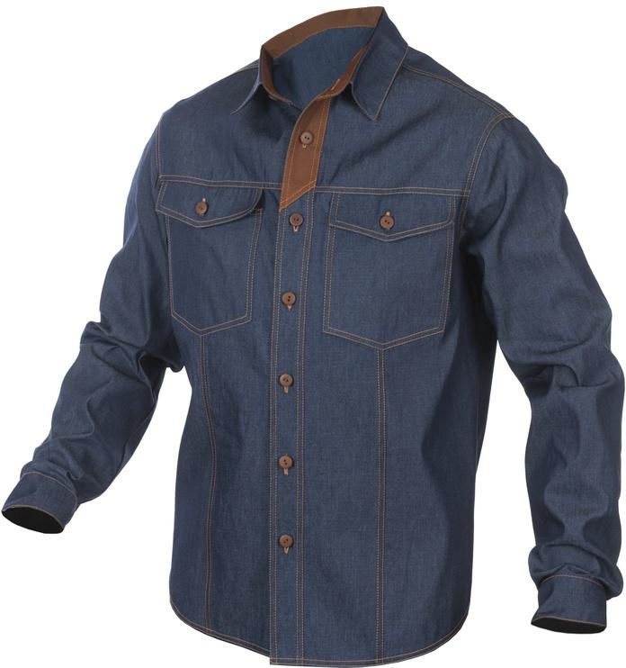 Darbiniai vyriški marškiniai TEXAS 10441, dydis XXL