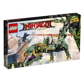 Konstruktorius LEGO Ninjago,  Žaliasis nindzės drakonas robotas 70612