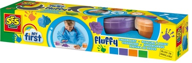 SES Creative My First Fluffy Fingerpaint 4pcs 14441