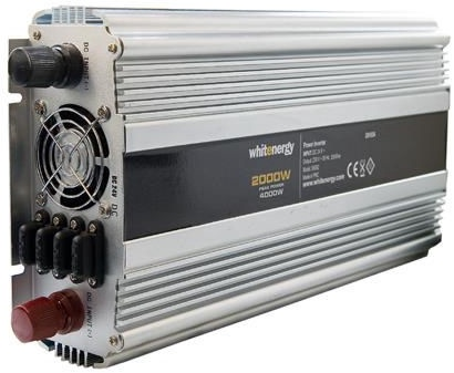 Whitenergy Receptacle Power Inverter 24V DC To 230V AC 2000W