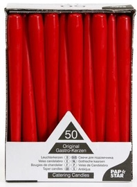 Pap Star Candles 50PCS Red