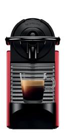 Капсульная кофемашина Nespresso Pixie, черный/красный
