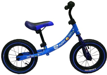 "Balansinis dviratis Enero Air Puppy, mėlynas, 12"""