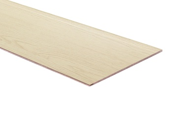 Laminuotos medienos plaušų dailylentės Standart Oak Zakarpat, 2.6x0.148 m, 5.5 mm
