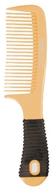 Titania Hair Comb With Rubber Handle Yellow 20.5cm